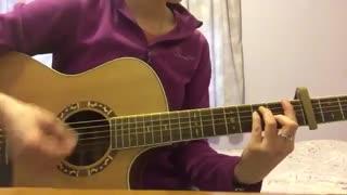 True colors_guitar cover