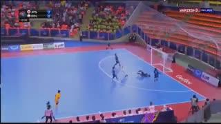 خلاصه فوتسال زنان  ایران 5 ژاپن 2  فینال جام ملت های آسیا 2018