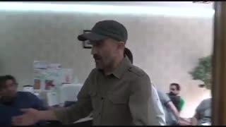ویدیویی از پشت صحنه یکی از سکانس های «لاتاری»