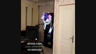 دستگاه هولوگرافی سه بعدی ایرویژن با تجربه ای جدید