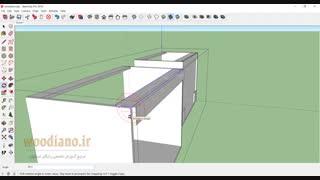 آموزش طراحی کابینت آشپزخانه- قسمت 2