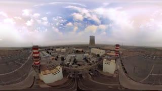 اولین فیلم واقعیت مجازی( 360 درجه ) از نیروگاه برق سیکل ترکیبی شریعتی مشهد مقدس به مالکیت شرکت گسترش انرژی پاسارگاد