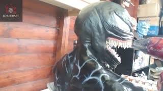 ساخت مجسمه Venom