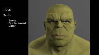 ساختن شخصیت هالک با کمک CGI