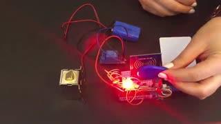 پروژه دربازکن RFID با آردوینو و ماژول RFID RC522 + سورس برنامه