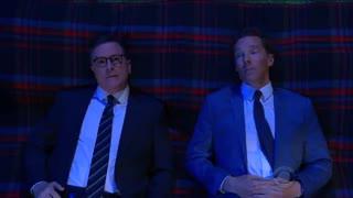 حضور Benedict Cumberbatch در برنامه Stephen Colbert - قسمت اول