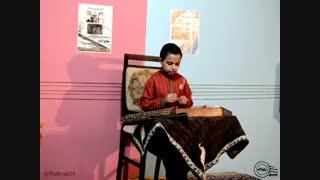 چهارمضراب بیات ترک پشنگ کامکار - سنتور: عرشیا احدی