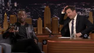 حضور Sterling K. Brown در برنامه Jimmy Fallon - قسمت 1