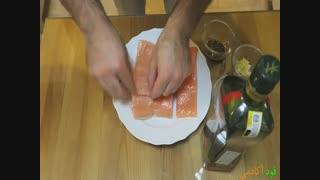 خوشمزه ترین ماهی دنیا در فودآکادمی آشپزی با ایمان