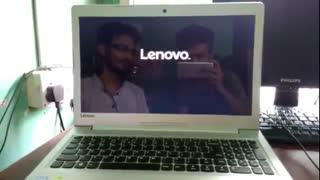اموزش نصب ویندوز و بوت کردن از سی دی ویندوز 10 lenovo idea pad 310