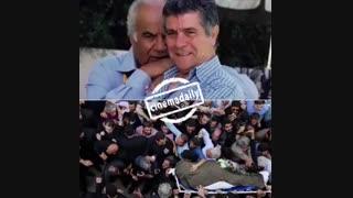 نسخه اصلی پیام صوتی بهروز وثوقی در مراسم تشییع زنده یاد ملک مطیعی