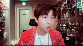 RM : LOVE YOURSELF 轉 'TEAR' BEHIND [180528
