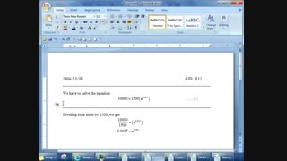 Word How to create delimiter line