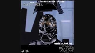 اکشن فیگور دارث ویدر darth Vader از مجموعه جنگ ستارگان STAR WARS کمپانی هات تویز