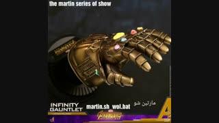 داغ داغ ! رونمایی از دستکش بینهایت INFINITY GAUNTLET برای Avengers 3 infinity wa