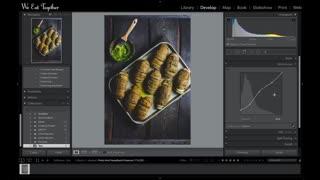 ادیت عکس غذا با لایت روم و فتوشاپ