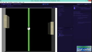 اموزش طراحی بازی pong با موتور یونیتی (2)