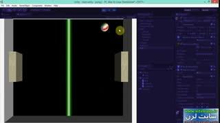 اموزش طراحی بازی pong با موتور یونیتی (3)