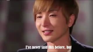 گریه های لیتوک وقتی که مجری ازش درمورد خانواده اش و زندگی قبل از دبیوتش پرسید.. Suju leeteuk