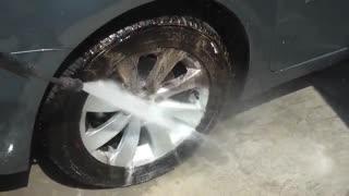 Wheel & Tyre Cleaner (فوم جرمگیر رینگ و لاستیک)