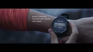 ساعت مجهز به GPS و باتری هوشمند برای ورزشکاران