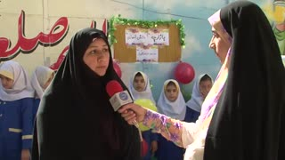 گزارش بازارچه کار افرینی از مبینا نواصر