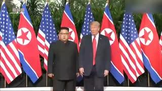 دیدار ترامپ با رهبر کره شمالی