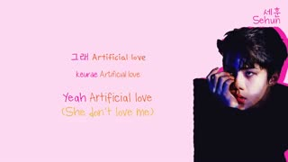 EXO (엑소) - Artificial Love Lyrics (Color-Coded Han/Rom/Eng
