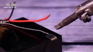 چگونه با باتری پاور بانک بسازیم