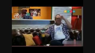 قاچ خندوانه 97 - وقتی جناب خان به رامبد فوتبال یاد میده از دست ندی خیلی خنده داره :)