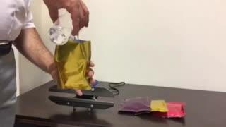 دستگاه دوخت پلاستیک پرتابل  02155594341