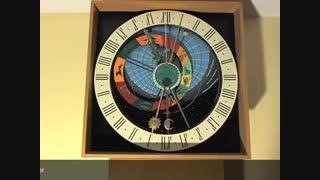 یک نمونه ی ساخته شده از ساعت نجومی Winterthur در سوئیس
