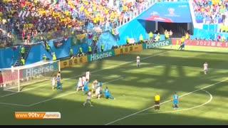 خلاصه جام جهانی: برزیل ۲-۰ کاستاریکا