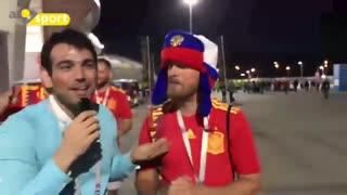بعد از برد اسپانیا چه اتفاقی تو روسیه افتاد!