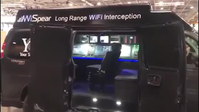 شهرسخت افزار: هک کردن گوشی های اندرویدی و آیفون از فاصله 500 متری با ون SpearHead 360 Mission Vehnicle