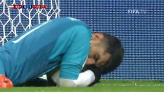 خلاصه بازی ایران - پرتغال (گزارش انگلیسی)