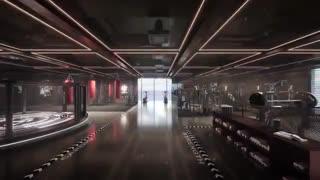 ساختمان جدید DJI با پل هوایی خیرهکننده