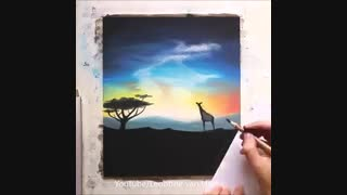 نقاشی به این میگن*_*