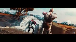 مبارزه Thor vs Kratos