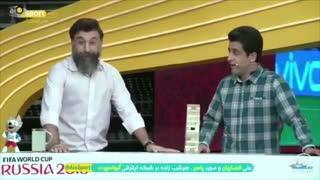 ماجرای موزه لوور رو که یادتونه! علی انصاریان دوباره یادآوری میکنه!!
