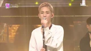 اجرا Tonight از Shinee در SBS Inkigayo