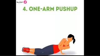 آموزش ورزشهای عضله سازی بازو