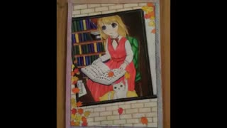 نقاشی انیمه ای(ریونا)