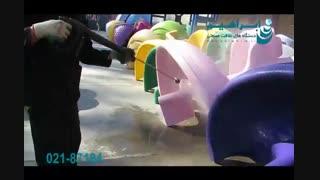 واترجت صنعتی - کارواش دستی برای شستشوی اسباب بازی پارک