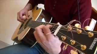 (Luca Stricagnoli. Paradise (Cold play cover