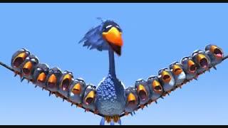 انیمیشن کوتاه برای پرندگان (for the birds)