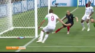 خلاصه جام جهانی: کرواسی ۲-۱ انگلیس