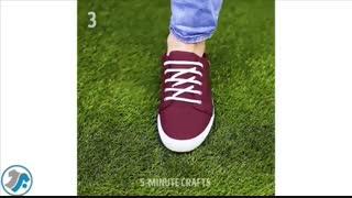 4 ترفند بستن بند کفش