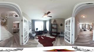 ویدیوی 360 درجه طراحی داخلی آپارتمان