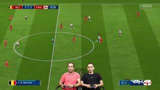 بازی بلژیک انگلیس | رده بندی جام جهانی 2018 روسیه
